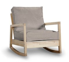 SYLT taupe Bezug für IKEA LILLBERG Sessel/Schaukelstuhl , sofa bezug ...