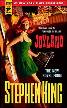 Joyland: Stephen King returns with a pulp fiction thriller. Quite possibly one of my favorite Stephen King books ever. Stephen King It, Steven King, Stephen King Novels, Pulp Fiction, Horror Fiction, Crime Fiction, Fiction Books, Science Fiction, Great Books