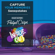 Enter The CAPTURE YOUR MEMORIES Sweepstakes for your chance to win a FAMILY GETAWAY for 4 to HAWAII http://pretzelcrisps.com/InsideOut