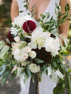 The Best Blooms for a Whimsical Cascading Bouquet   TheKnot.com