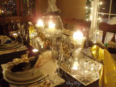 New Year's Eve Dinner Party by dining delight, via Flickr