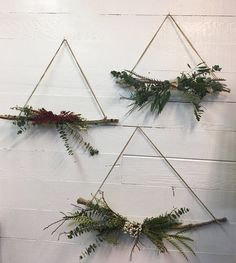 Image result for twig christmas trees