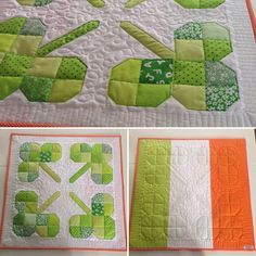 Happy St Patrick's Day Happy St Patricks Day, Quilts, Blanket, Sewing, How To Make, Blankets, Couture, Quilt Sets, Fabric Sewing