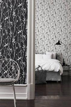 Stuvbutiken | Engblad & co - Black & White Spring Tree 6061