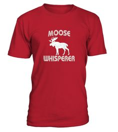 e5889fd219a7 Moose Whisperer T shirt Moose Silhouette Shirt Moose Gift . HOW TO ORDER 1