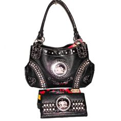 Betty Boop Black Emanel Metal Logo Signature « Clothing Impulse
