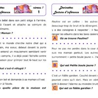 Dossier de lecture d'inférences en autonomie Reading Games, Reading Activities, Literacy Activities, Teaching Reading, French Teacher, Teaching French, School Organisation, Core French, French Classroom