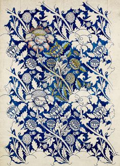 William Morris was an English artist, writer, textile designer and socialist associated with the Pre-Raphaelite Brotherhood and English… William Morris Wallpaper, William Morris Art, Morris Wallpapers, Textile Prints, Textile Patterns, Print Patterns, Tattoo Patterns, Lino Prints, Block Prints
