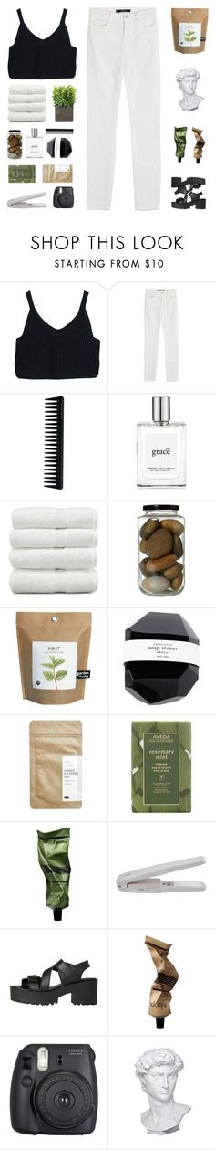 """""""- ̗̀ 3 5 0  ̖́- (rtd)"""" by kcsweder ❤ liked on Polyvore featuring J Brand, GHD, philosophy, Linum Home Textiles, Paper & Tea, Aveda, Aesop, Windsor Smith, Fuji and Eichholtz"""