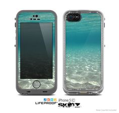 The Under The Sea Scenery Skin for the Apple by TheSkinDudes