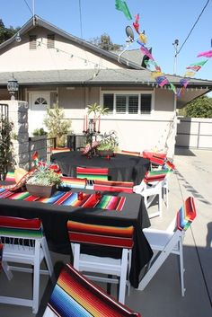 Michelle B's Birthday / Mexican Fiesta - Photo Gallery at Catch My Party Mexican Theme Baby Shower, Mexican Fiesta Birthday Party, Fiesta Theme Party, Festa Party, Birthday Party Themes, 30th Birthday, Theme Parties, Birthday Ideas, Birthday Chair