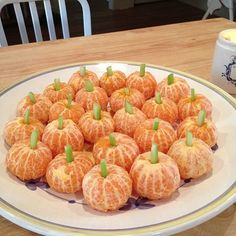 A healthy halloween treat - love it!  little cuties with a piece of celery