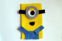 punk projects: DIY Despicable Me Minion Phone Cozy