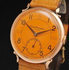 18k Gold Orange Watch