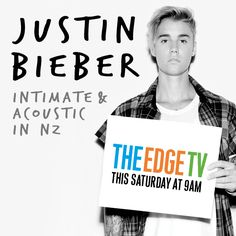 Catch @JustinBieber Intimate & Acoustic in FULL this Saturday on The Edge TV!