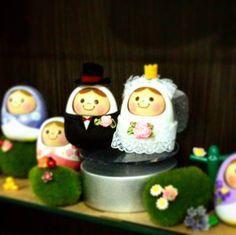 Collection of figurine @eyeem #collection #figurine #display #eyeem #wedding by nick.p78