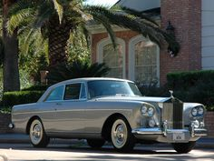 1965 Rolls-Royce Silver Cloud III Continental Coupe.
