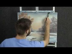 Paint with Kevin - Beginning of Winter - YouTube
