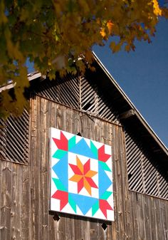 Barn Quilt from Washington County Selected to Represent Tennessee