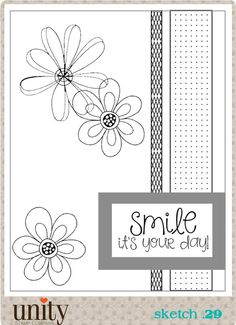 Unity Stamp Company Challenge: Unity {Be Inspired} Challenge: June 11 - July 9