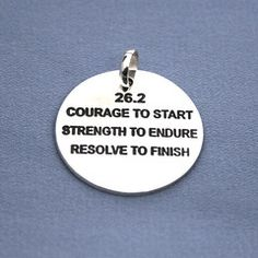 26.2 : Courage to start, Strength to endure, Resolve to finish