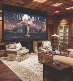 Tag someone who would love this private home cinema 👇 Life is short, get #rich like we do and become #famous tomorrow. Follow Rich Famous on Twitter to live the life you want.