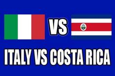 ITALY  0 - 1  COSTA RICA (Full-Time) -2014 FIFA World Cup, Arena PernambucoRecife (BRA)20 Jun 2014 - Group stage - Group D