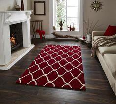 Elements El 65 Modern Rug Red Rugs Wool Carpets Online