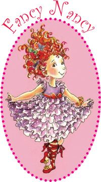 Fancy Nancy......This is Me! My first name is Nancy and my fave color is RED, so of course this is me!!!   JILL