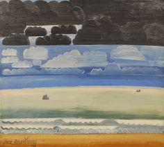 Works by Belgian painter Jean Brusselmans (1884 - 1953)   via pinkpagodastudio