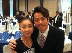 With Narumi Takahashi NHK Trophy banquet