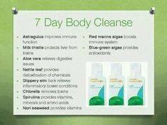 7 day body cleanse by Arbonne! I found this cleanse to be quite gentle. ingridboehm.arbonne.com