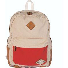 Billabong Women's Hidden Trek Backpack ($55) ❤ liked on Polyvore featuring bags, backpacks, accessories, moonlight, colorblock backpack, color block bag, colorblock bag, billabong backpack y knapsack bags