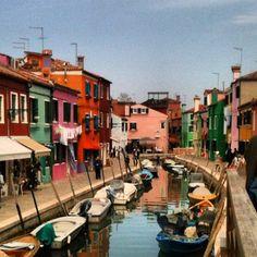 Immagini dalla gita a Burano, San Francesco del Deserto, e poi Ammiana e Costanziaca, le isole sommerse da cui ha avuto origine Venezia.