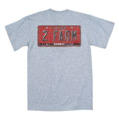 Case Ih License Plate Athletic Heather Men's T-Shirt