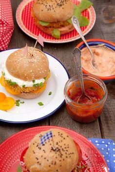 Domowy fast food – pomysł na wegetariańskie burgery z soczewicy | Lawendowy Dom