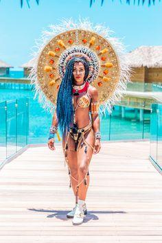 Loved wearing this costume for Antigua Carnival 2019