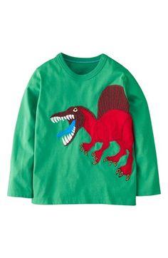 Mini Boden 'Big Creature' Appliqué T-Shirt (Toddler Boys, Little Boys & Big Boys) available at #Nordstrom