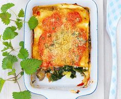 Brennessel-Lasagne