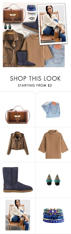 """""""The Icon Perfected: UGG Classic II Contest Entry"""" by wannanna ❤ liked on Polyvore featuring Levi's, MaxMara, UGG Australia and UGG"""