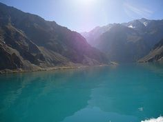 Photo taken By; (Cheema Bros.) World's largest and deepest natural lake located Attabad (Hunza), You've to cross this lake if you're going from  Pakistan to China.