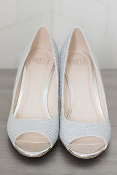 Silver Bridal Shoes Purple And Intimate Wedding At The Capen House Polasek