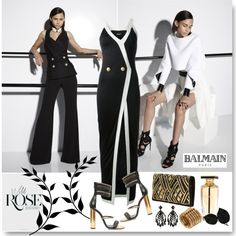 """""""Strictly Balmain"""" by jacque-reid on Polyvore"""