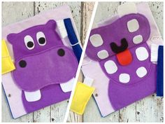 wash teeth quiet book page Quiet Book FREE DELIVERY worldwide for all orde. -Hippo wash teeth quiet book page Quiet Book FREE DELIVERY worldwide for all orde. Quiet Book Templates, Quiet Book Patterns, Diy Quiet Books, Felt Quiet Books, Toddler Activities, Activities For Kids, Silent Book, Busy Book, Book Projects