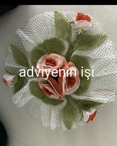Hand Embroidery, Knots, Christmas Wreaths, Holiday Decor, Buttons