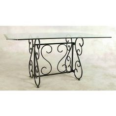 Lowest price on Grace Collection Stone x Wrought Iron French Scroll Dining Table Base Shop today! Steel Dining Table, Wooden Dining Tables, Modern Dining Table, Entryway Tables, Marble Tables, Dining Furniture, Modern Furniture, Furniture Ideas, Iron Table
