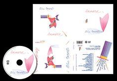 "Packaging design CD ""Ammore"" per azienda Blue Tower"