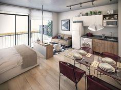 Полный Современный Дизайн квартиры-студии. 150+ Фото Идей для интерьера