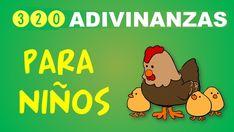 COLECCIÓN DE 320 ADIVINANZAS DIVERTIDAS Y SENCILLAS PARA INFANTIL PREESCOLAR Y PRIMARIA