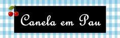 CANELA - Etiqueta para pote de vidro  Por Vanessa Oliveira Nutricionista